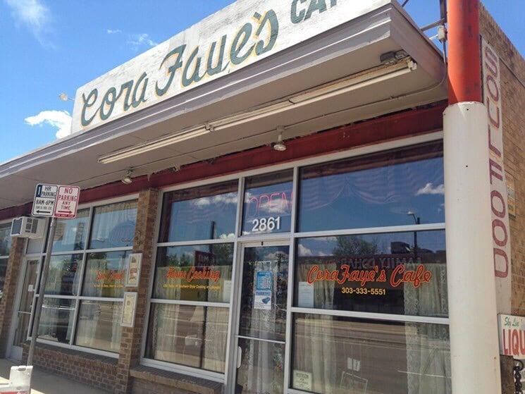 CoraFaye's Café - Denver, CO, United States. Kinda reminds me of back home