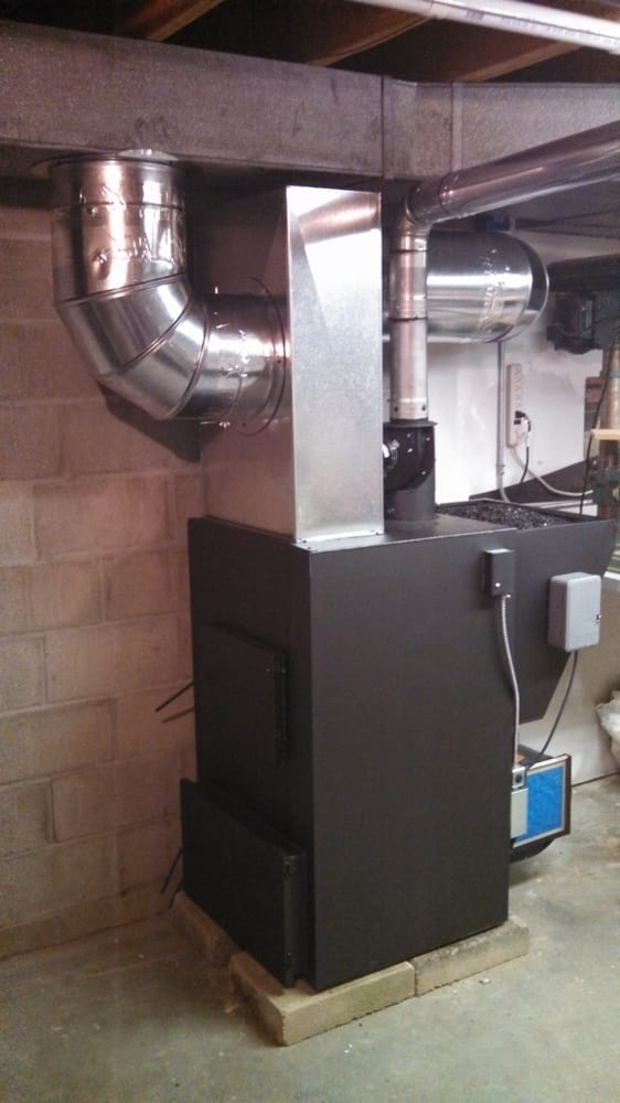 A Mini Koker Furnace From Keystoker Installed In A 4