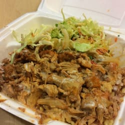York and 69th Halal Cart - $5 chicken over rice platter!!! - New York ...