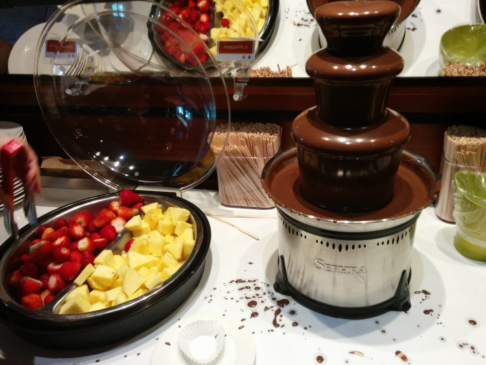 Chocolate fountain   Yelp