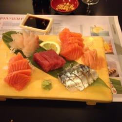 Plateaux de sashimis ! Hummmmm
