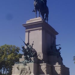 Monumento Giuseppe Garibaldi, Rom, Italy