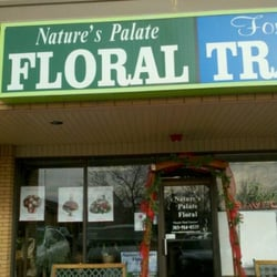 Natures Palate Floral logo