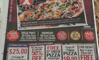 $10 for $15 deal at Extreme Pizza