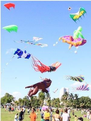 Kitetober Kite Festival at Haulover Park