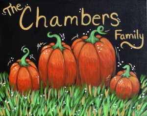 Paint drink have fun paint family pumpkin patch for Wine and paint st louis