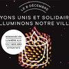 Photo de Lyon : hommage du 8 décembre