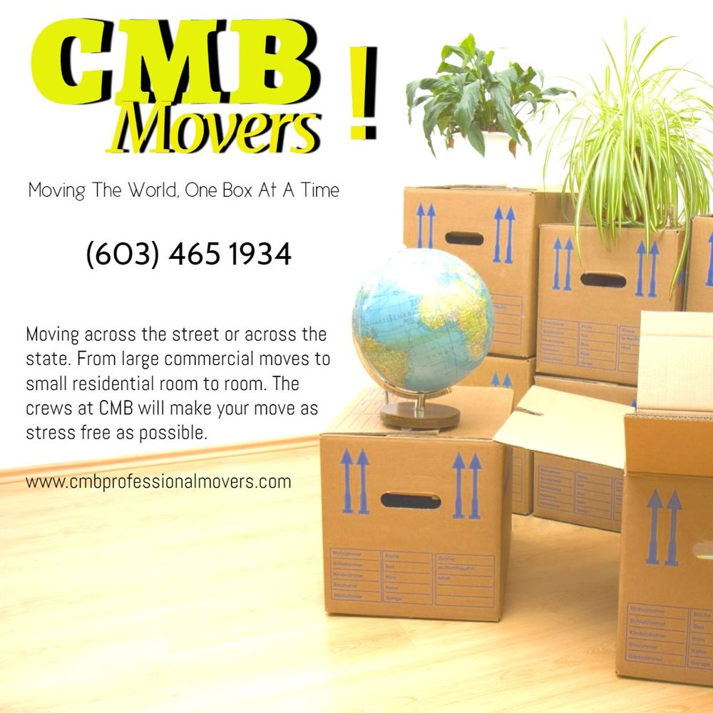 CMB Professional Movers: Greenville, NH
