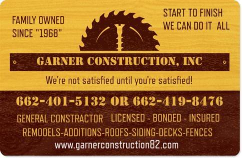 Macky Garner Construction: Tupelo, MS