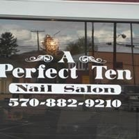 A Perfect 10 Nail Salon: 203 South St, Athens, PA