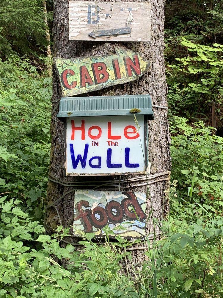 Hole In Wall Bar: 7500 S Tongass Hwy, Ketchikan, AK