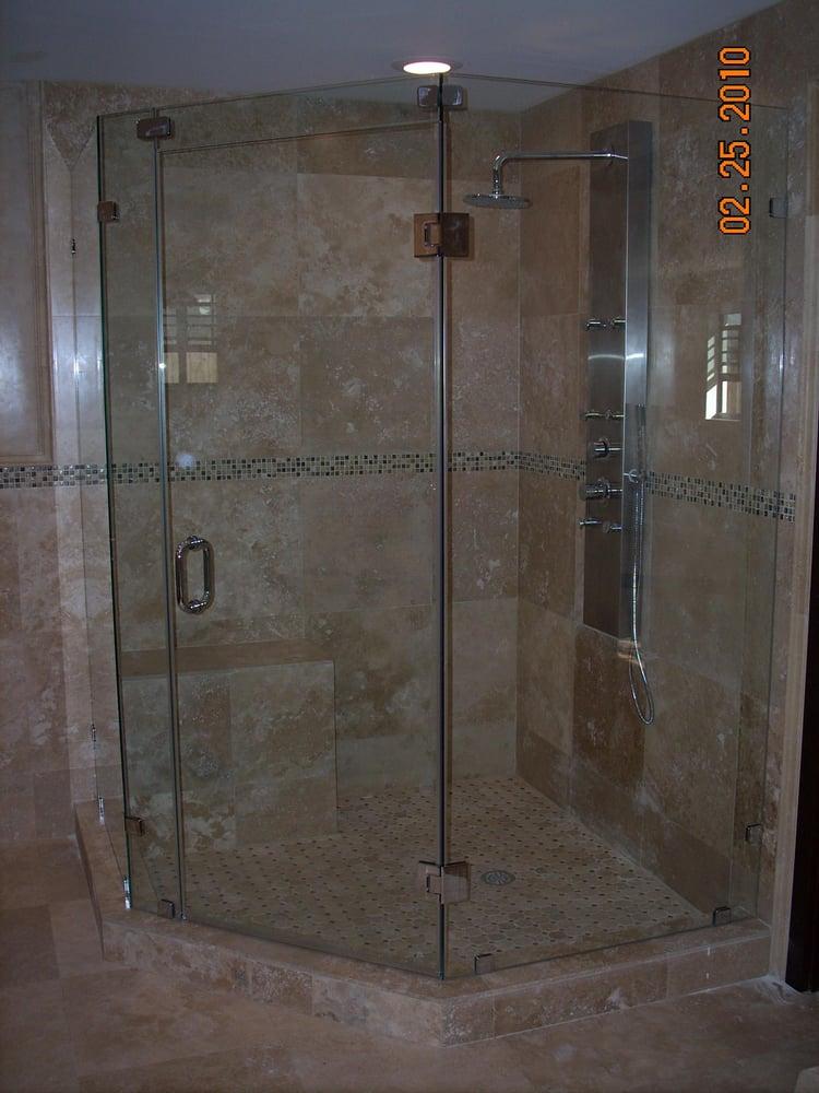 BATHROOM REMODEL.INCLUDES SHOWER WALLS, FLOOR IN CUSTOM TILE ...