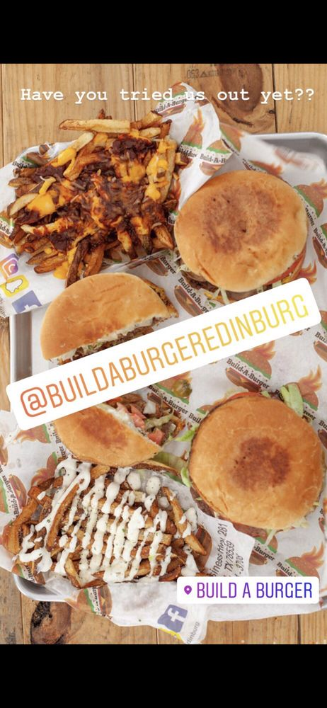 Food from Build A Burger