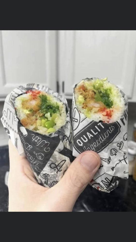 Sushi Burrito Cafe: 623 Northern Pacific Ave, Fargo, ND