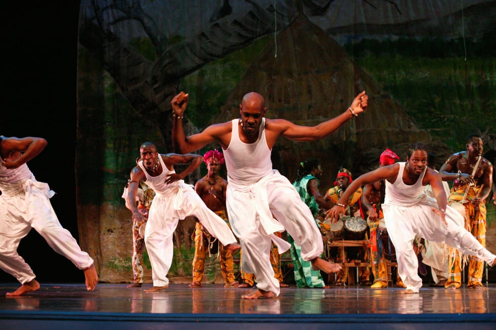 KanKouran West African Dance Company: NW, DC