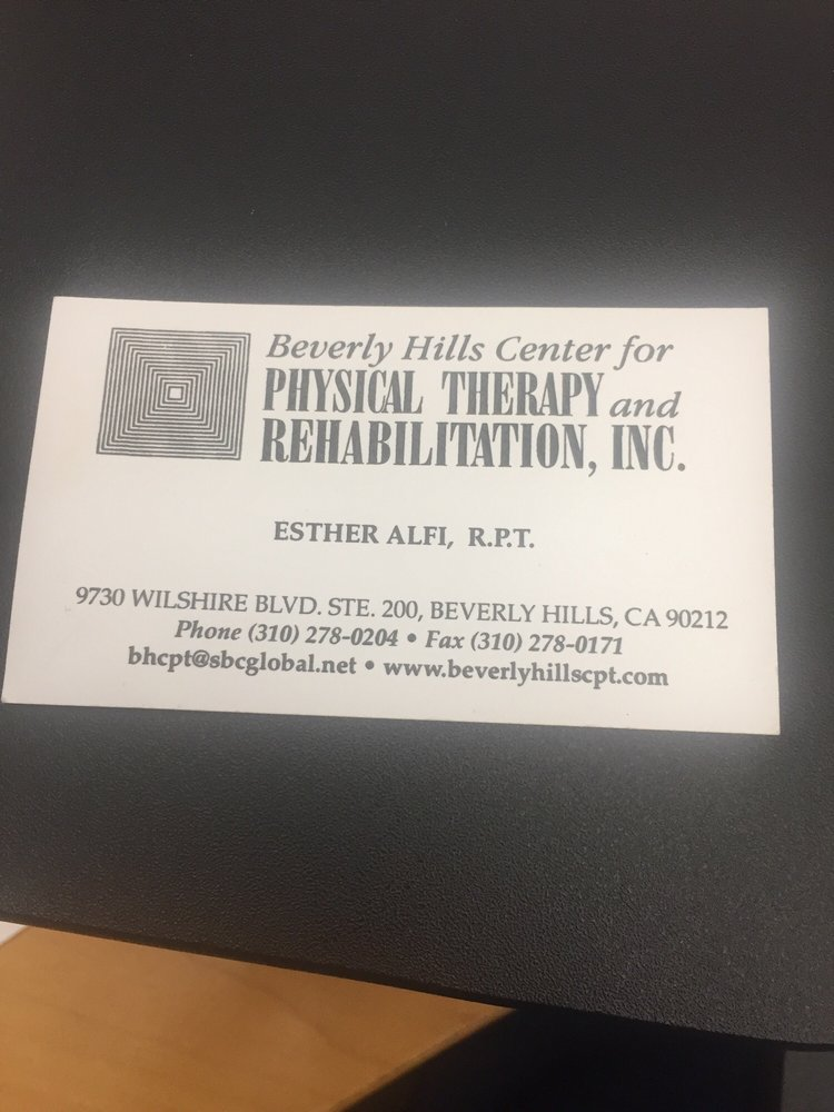 Beverly Hills Center For Physical Therapy & Rehabilitation