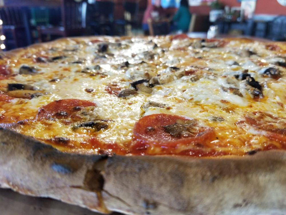 The Pizza Stone: 291 Pleasant St, Chester, VT