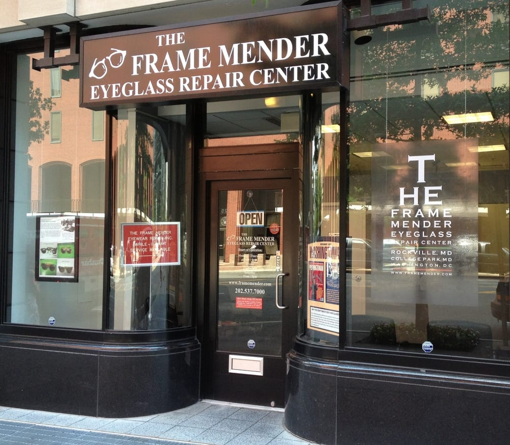 The Frame Mender Eyeglass Frame Repair Centers - 33 fotos ...