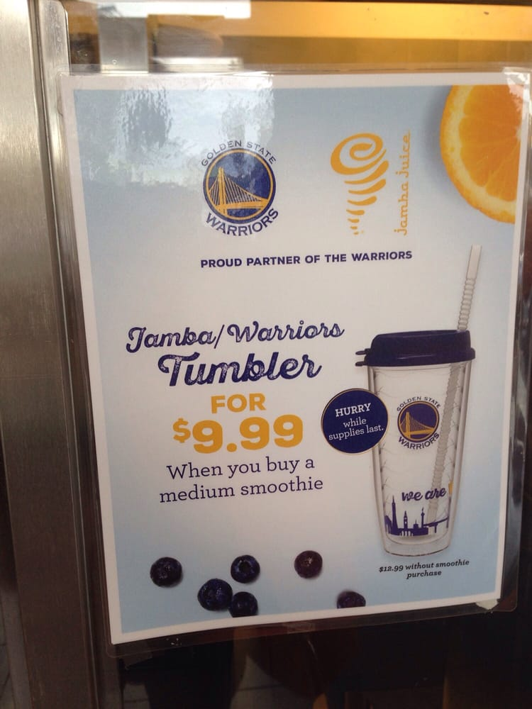 Free jamba juice warriors