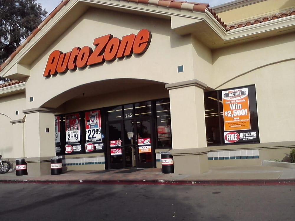 autozone 24 avis accessoires auto pi ces auto 285 town center pkwy santee ca tats. Black Bedroom Furniture Sets. Home Design Ideas