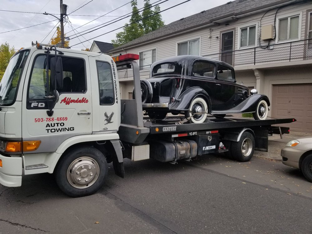 Affordable Auto Towing: 4314 SE 73 Rd Ave, Portland, OR
