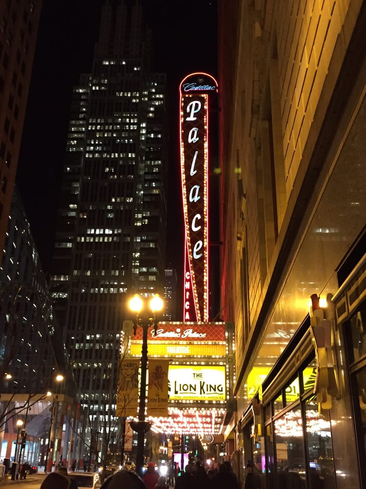 photo of cadillac palace theatre chicago il united states. Cars Review. Best American Auto & Cars Review