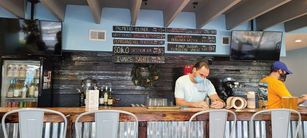 Coquina Coast Brewing Company: 318 Moody Blvd, Flagler Beach, FL