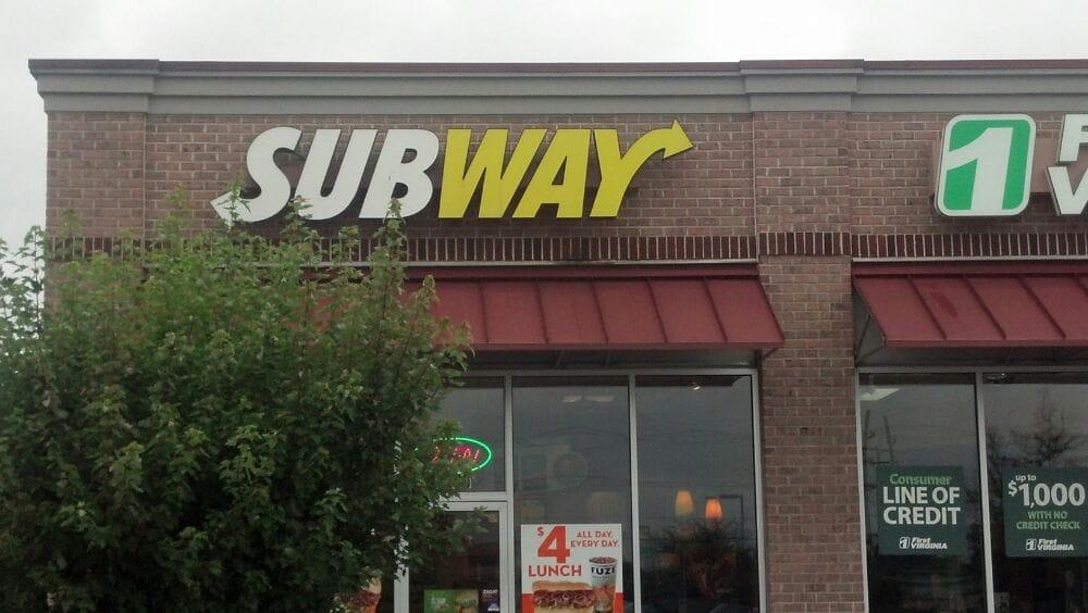Subway: 1205 Benns Church Rd, Smithfield, VA