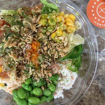Poke Spicy Salmon Bowl Whole Foods