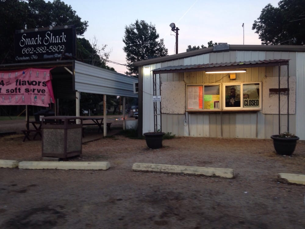 Snack Shack: Main St, Crenshaw, MS