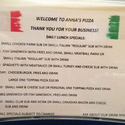 Photo Of Anna S Italian Restaurant West Point Va United States Lunch Specials