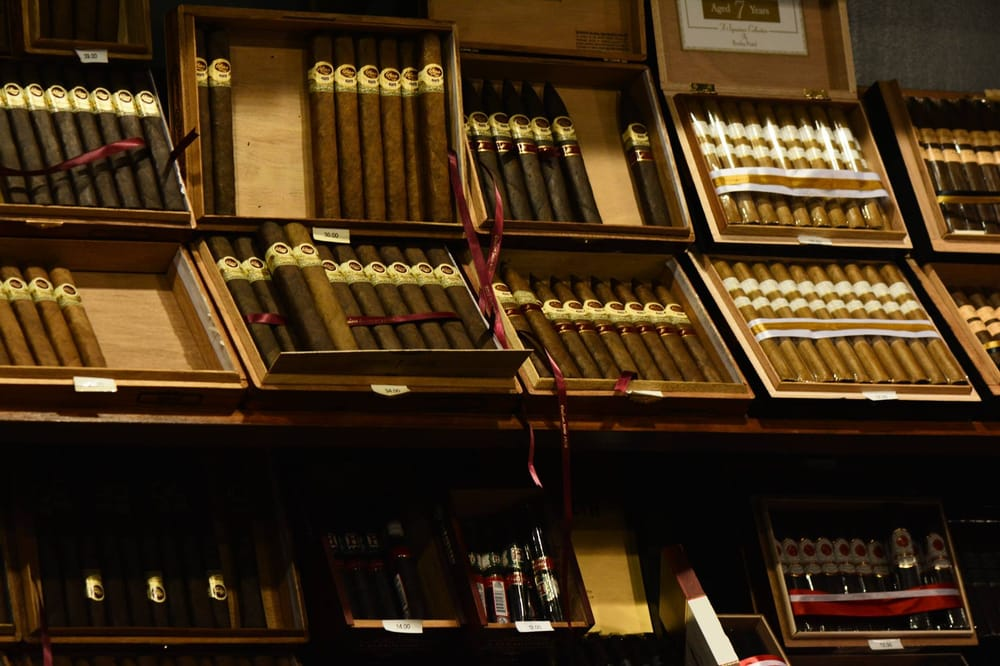 Charles P Stanley Cigar Bar
