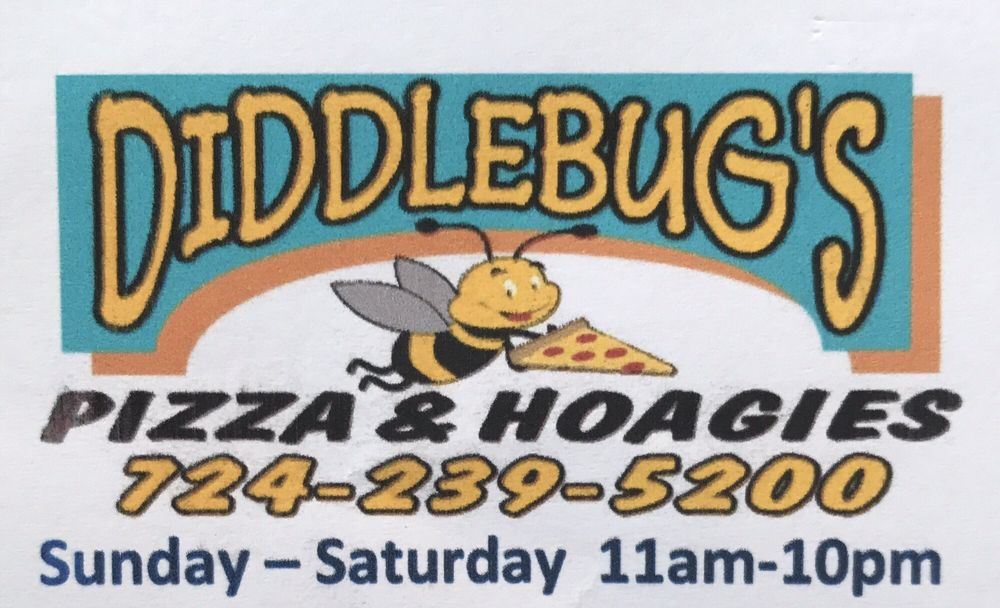 Diddlebugs Pizza & Hoagies: 1629 Route 481, Charleroi, PA