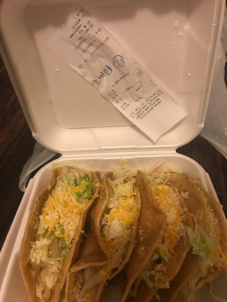 Odalberto's Mexican Food: 22448 Barton Rd, Grand Terrace, CA