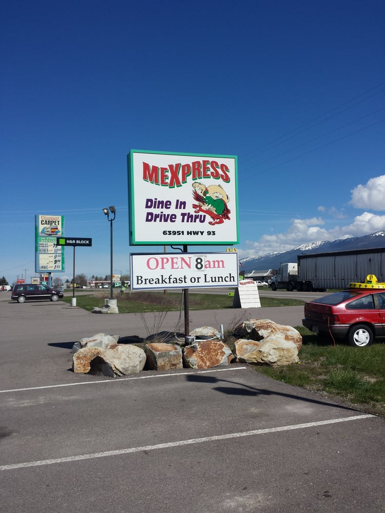 Mexpress: 63951 US Hwy 93, Ronan, MT