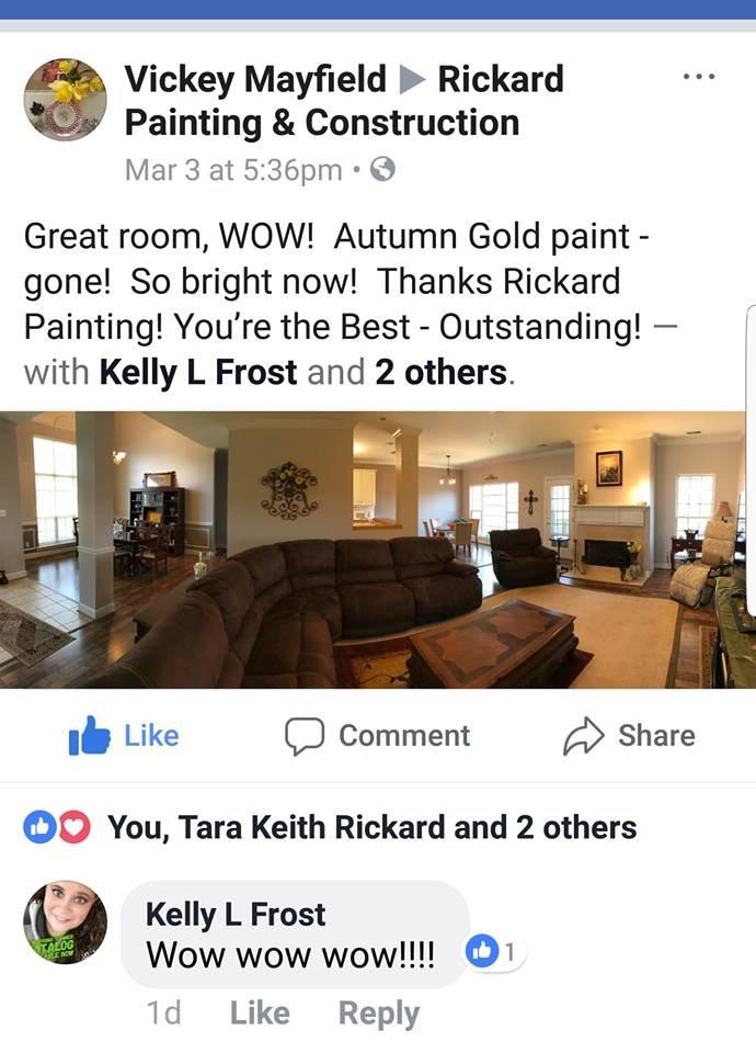 Rickard Painting: 1012 Kelly Creek Way, Moody, AL