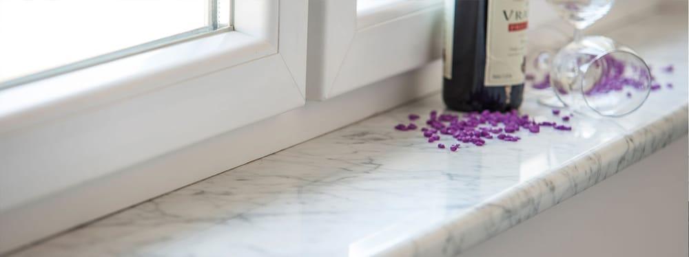Fensterbank Marmor Bianco Carrara - Yelp
