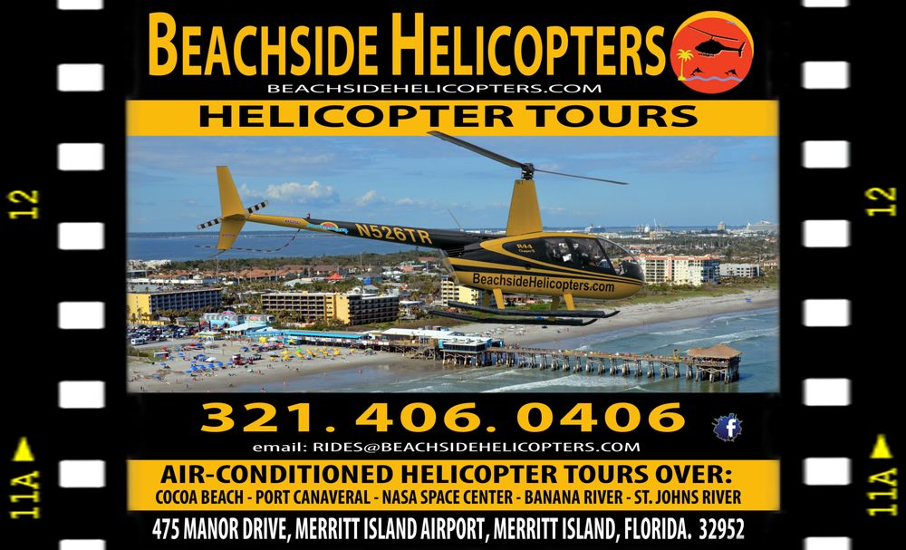 Beachside Helicopters: 475 Manor Dr, Merritt Island, FL