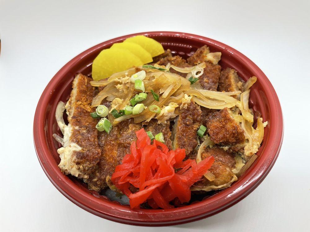 Food from Oishii Donburi