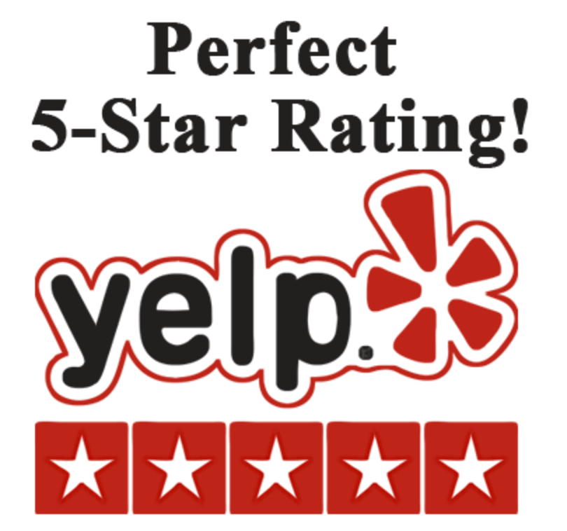 5-Star Company on Yelp!
