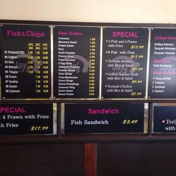 Jay s fish chip closed 54 photos 101 reviews for Fish 101 menu
