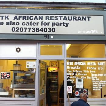 Mtk african restaurant african 91 granville arcade for African cuisine london