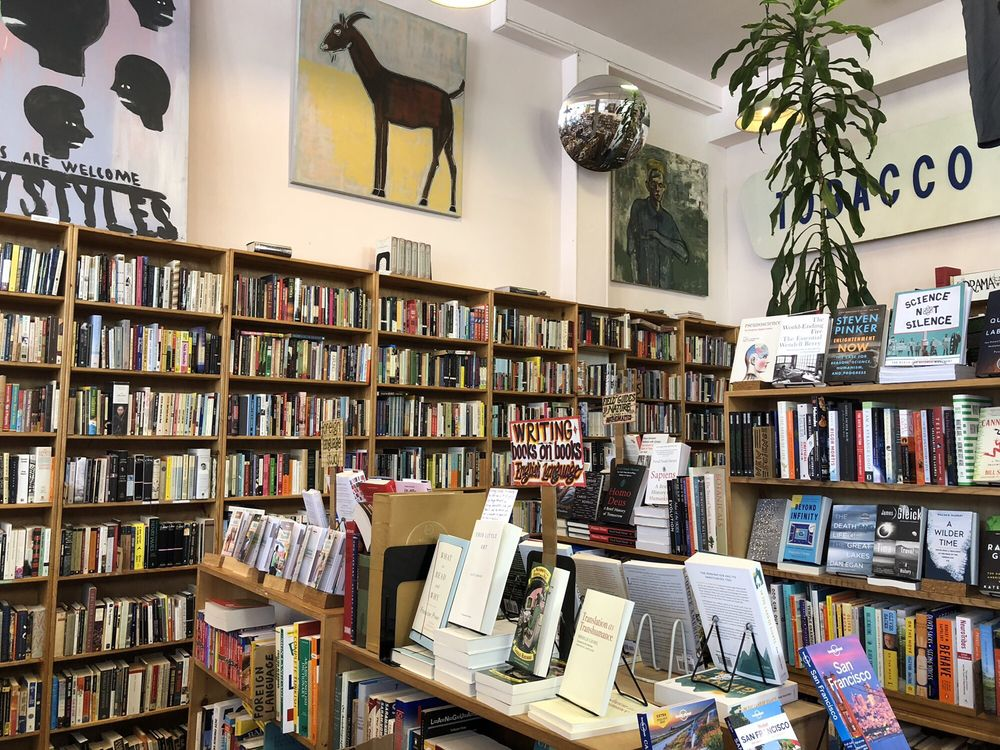 Dog Eared Books: 900 Valencia St, San Francisco, CA
