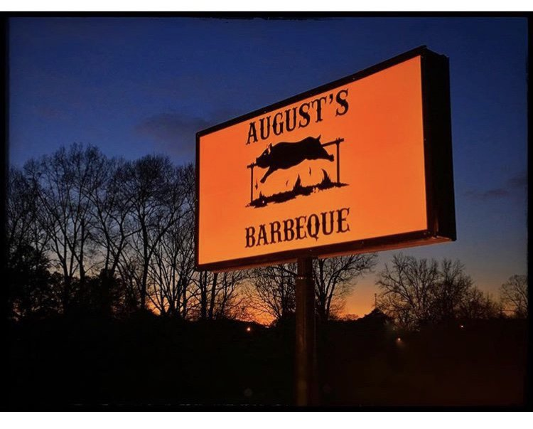 August's Barbeque: 40510 US Highway 280, Talladega Springs, AL