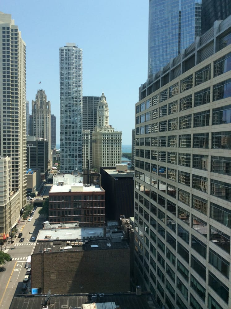 View from our room at spring hill suites yelp for All hotels downtown chicago