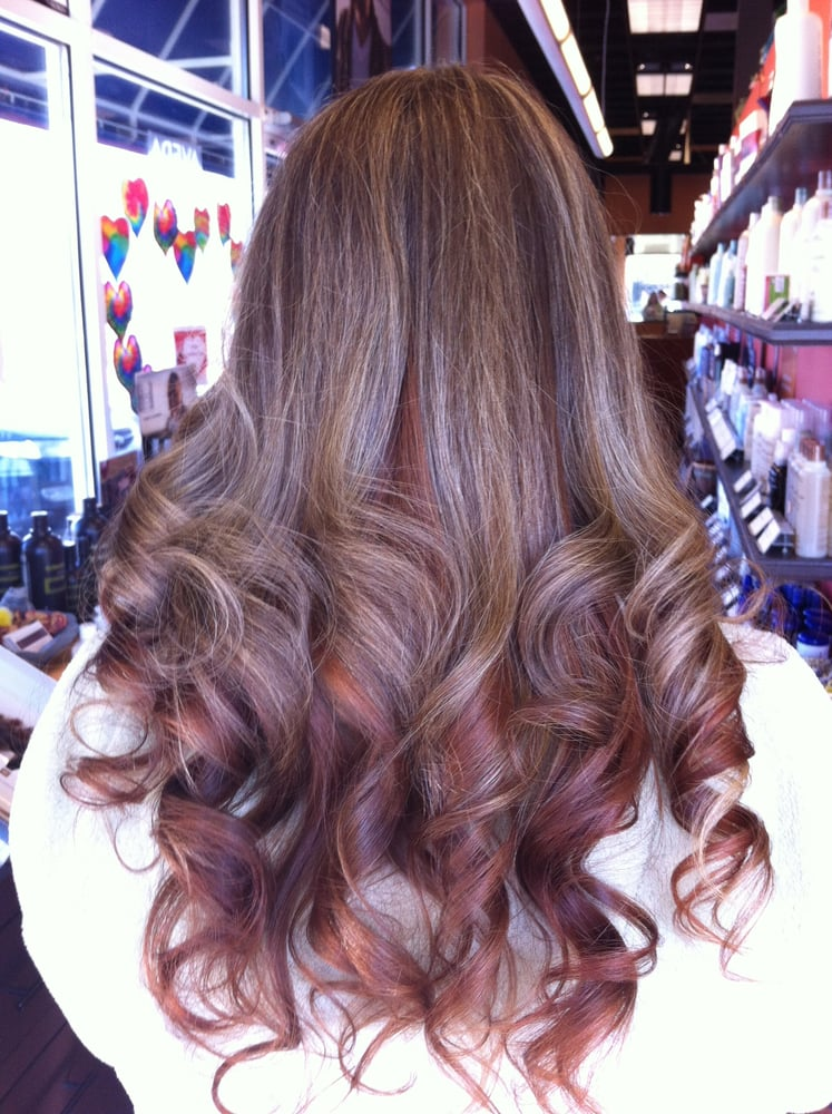 Graduated Balayage Ombre 2015 Hair Trends Haircuts And Hair