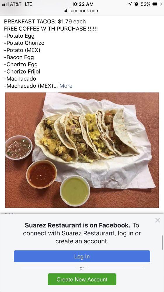 Suarez restaurant: 4800 McPherson Rd, Laredo, TX
