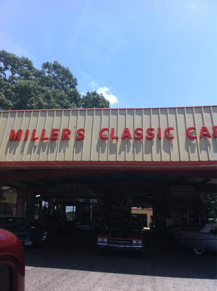 Millers Classic Cars Tyler Tx