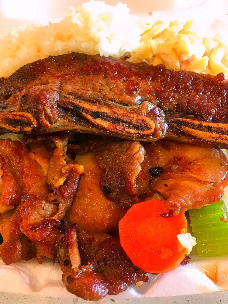 Oahu Hawaiian BBQ: 7723 N Blackstone Ave, Fresno, CA