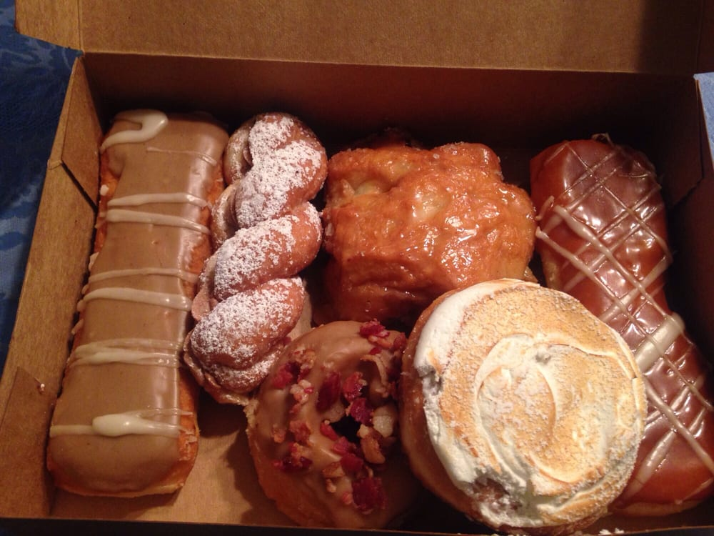 We Loved These Donuts Apple Fritter Nutella Lemon